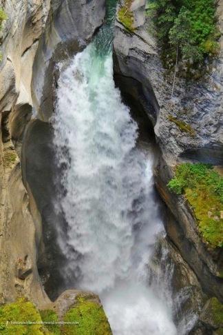 Maligne Falls - Jasper National Park, AB