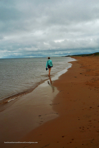 Wading in the Gulf of St. Lawrence - PEI National Park