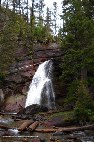 Baring Falls - Glacier National Park, MT