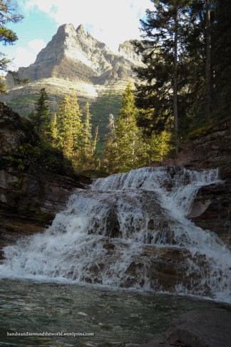 Unnamed Falls - Glacier National Park, MT