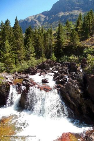Red Rock Falls - Glacier National Park, MT