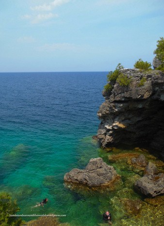 Looking into the Grotto - Bruce Peninsula National Park, ON