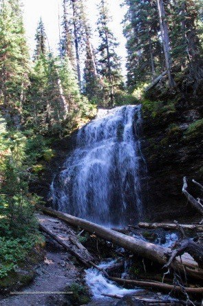 Forum Falls - Akamina-Kishenina Provincial Park, BC