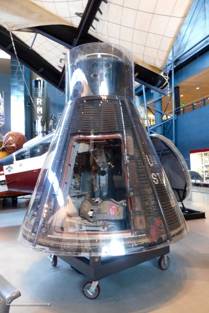 Gemini VII; two astronauts spent 14 days in this in December 1965, simply to show that humans could live in a weightless environment for that long