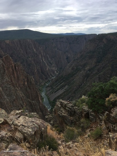 Views from South Rim Road