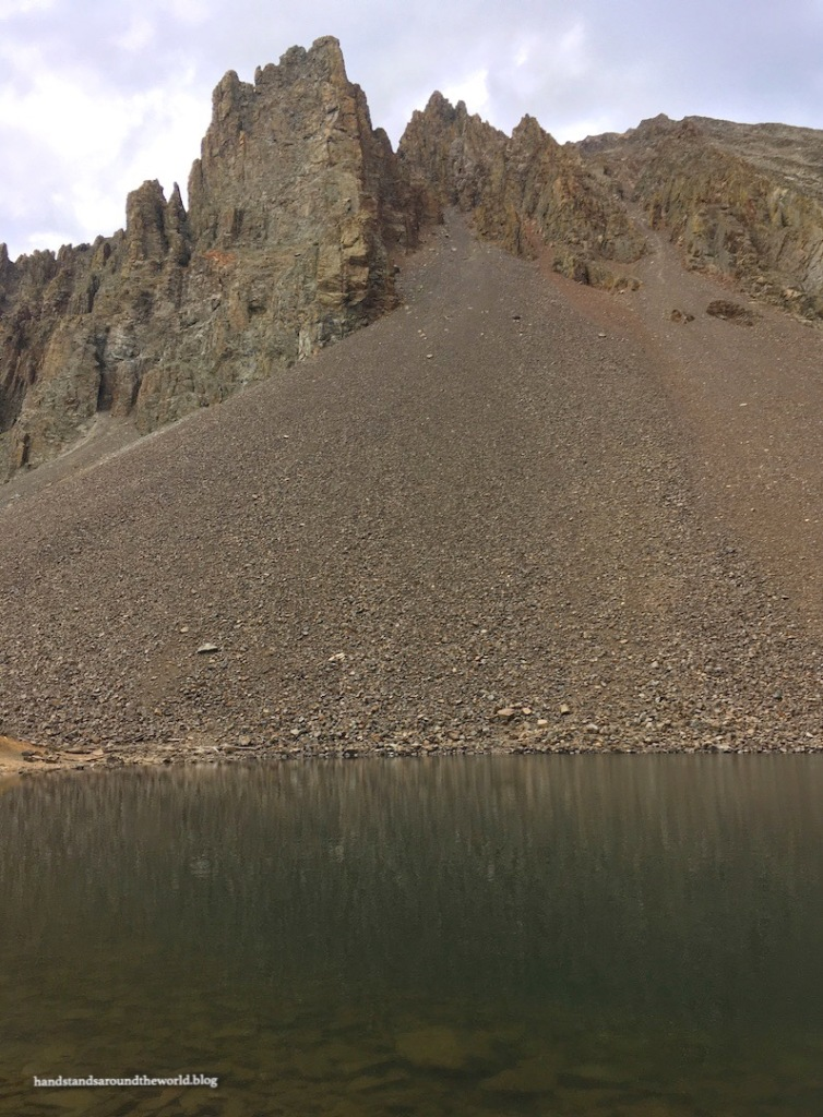 Lake Agnes and the Nokhu Crags